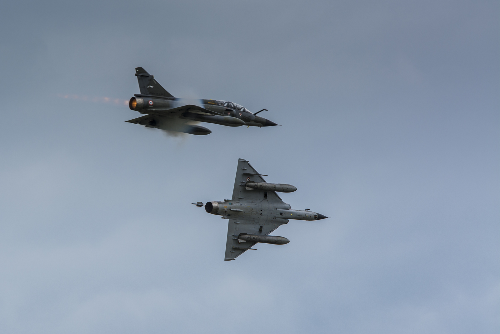 AIR14: Le team Ramex Delta sur Mirage 2000.