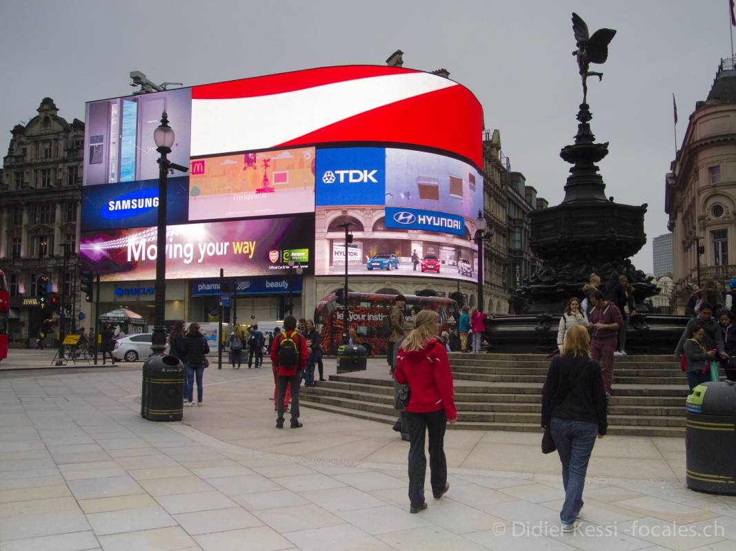 Londres: Trafalgar Square.