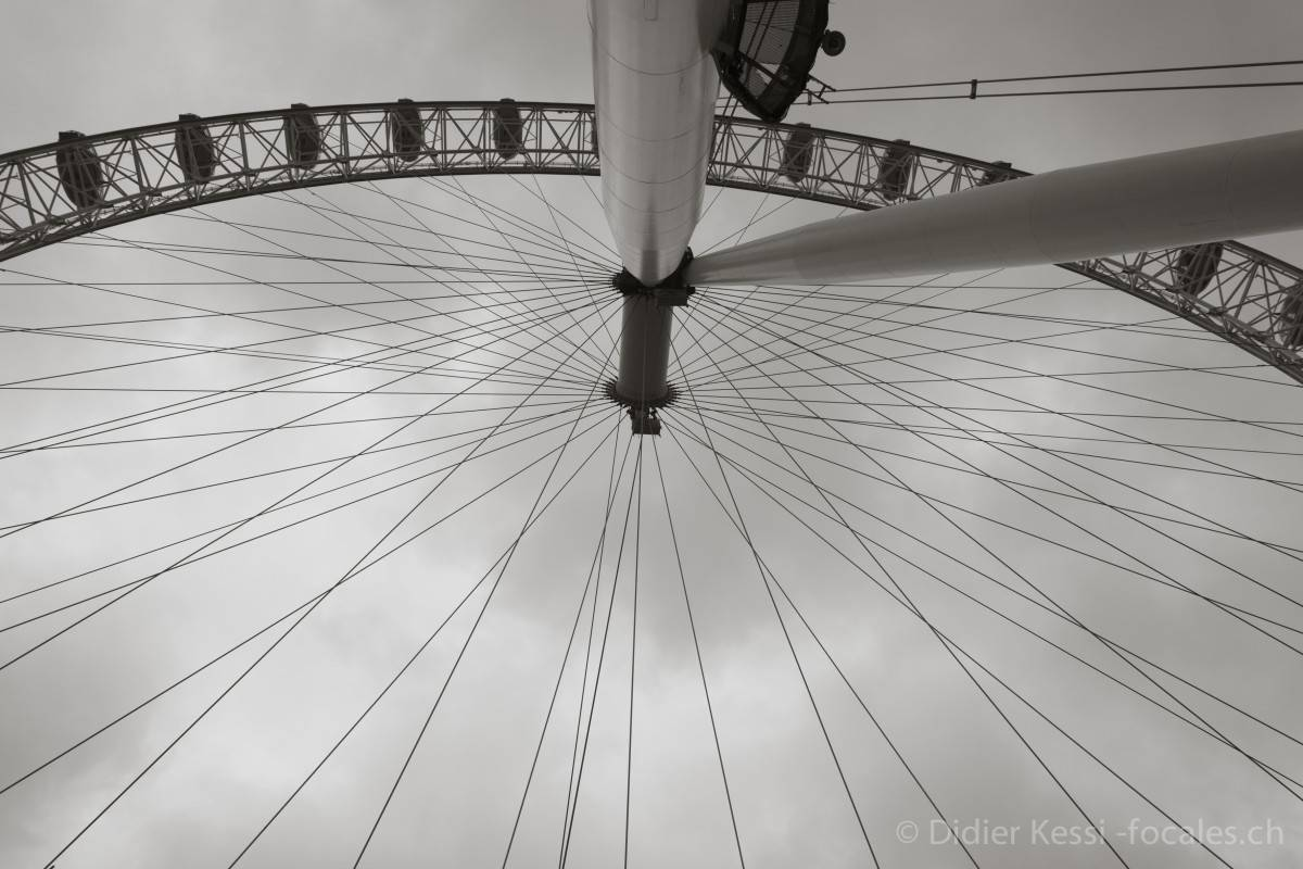 Londres: London Eye.
