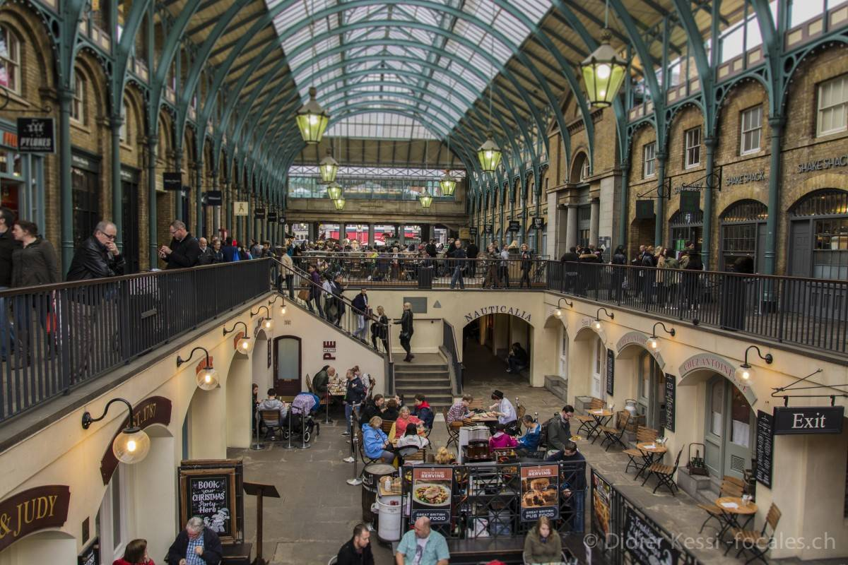 Londres: Covent garden.