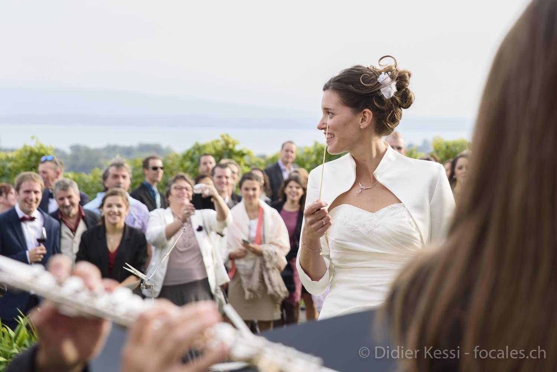 Reportage pour un mariage